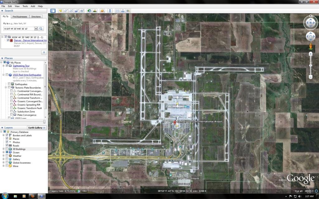 Aeroporto Denver : O que filme encontros imediatos do terceiro grau tem em