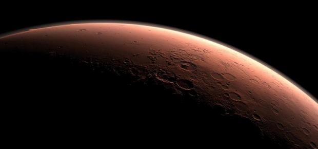 Superfície de Marte com suas crateras. Foto: NASA/JPL-Caltech