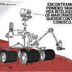Primeiros sinais de vida inteligente encontrados em Marte! (HUMOR)