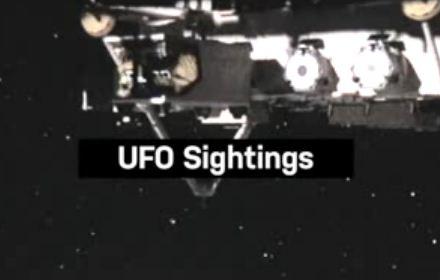 Avistamentos de OVNIs ao redor da Estação Espacial Internacional