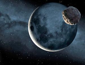 asteroide, lua