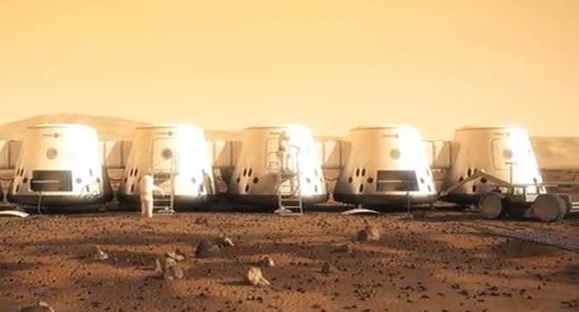 colônia em Marte
