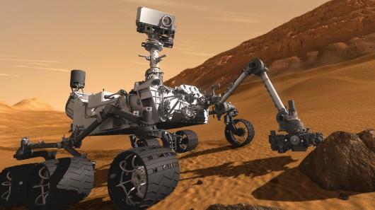 assinatura de vida em Marte