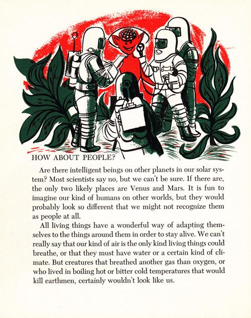 O que a ciência achava sobre os ETs em 1953