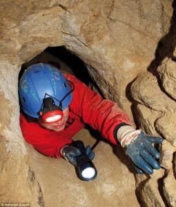 Parte estreita dos túneis