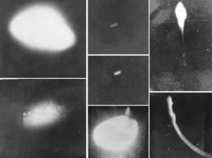 Fotos de OVNIs obtidas pela Operação Prato.