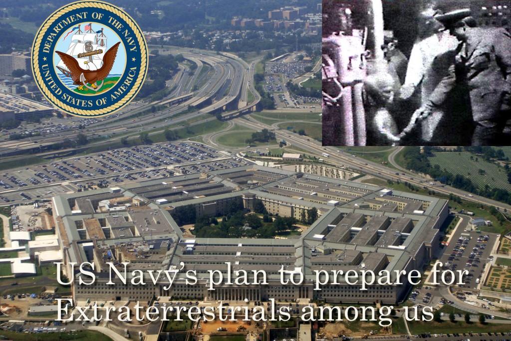 A Marinha dos EUA planejava nos preparar para o contato extraterrestre