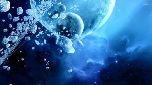 Colisão de cometas e asteróides pode ser suficiente para construir os blocos básicos da vida