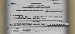 FAB libera documentos sobre OVNIs no RGS