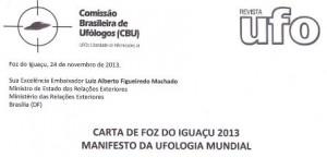 Carta de Foz do Iguaçú 2013