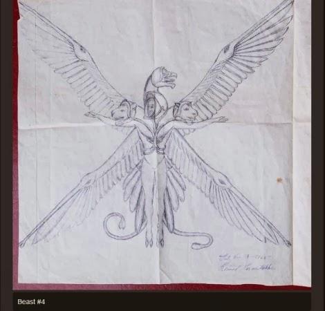 Desenho de alienígena