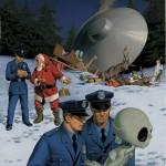 Caso grave de acidente com OVNI na noite de Natal