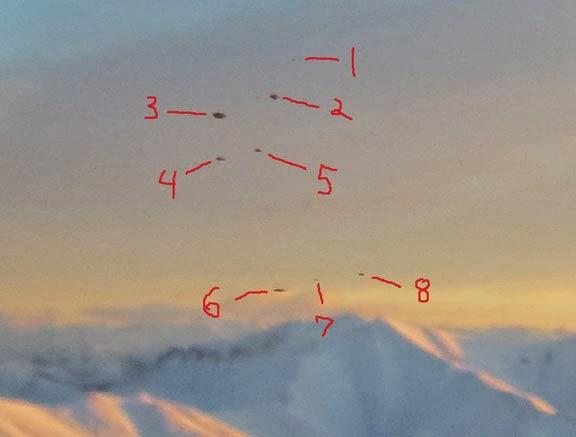 OVNIs no Alaska, ampliação