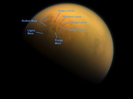 Titã e seus mares.