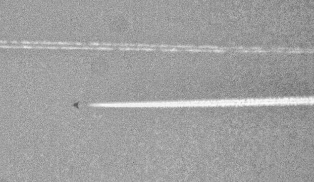 Misteriosa aeronave fotografada no Texas. Seria um avião ultra-secreto?