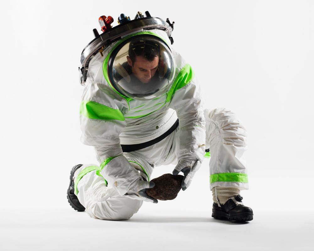 Versão 1.0 (Z-1) da veste espacial projetada pela NASA.