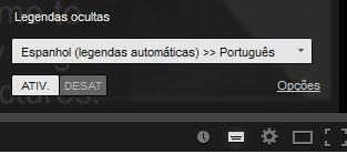 ativer legenda para português