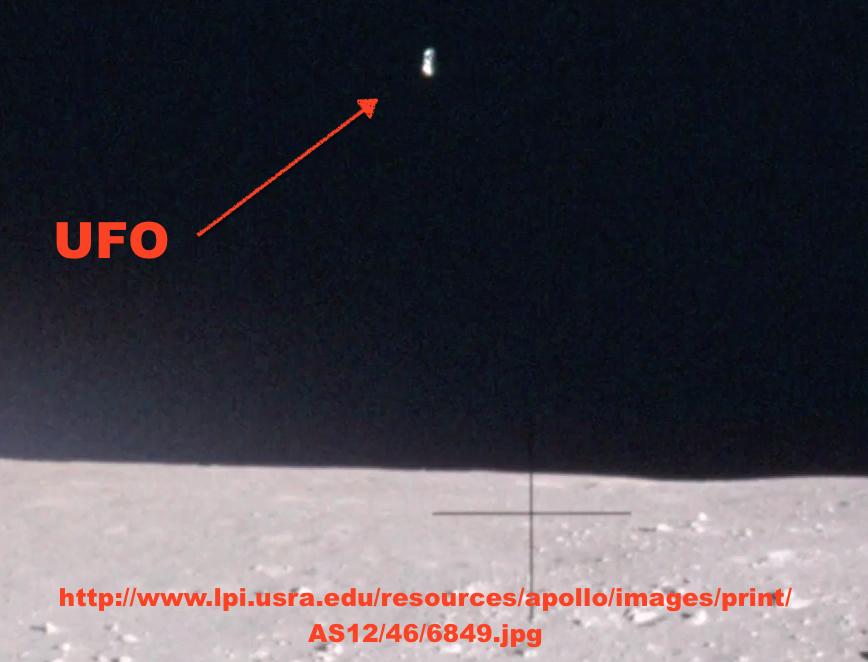 OVNI encontrado em foto da missão Apolo 12