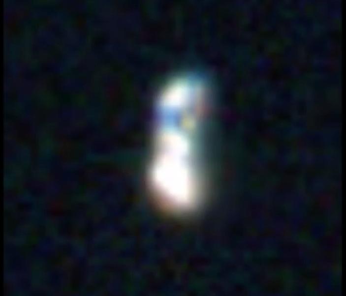 ampliação do OVNI da foto da missão Apolo 12