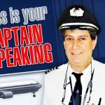 Contato imediato de um piloto de aeronave comercial