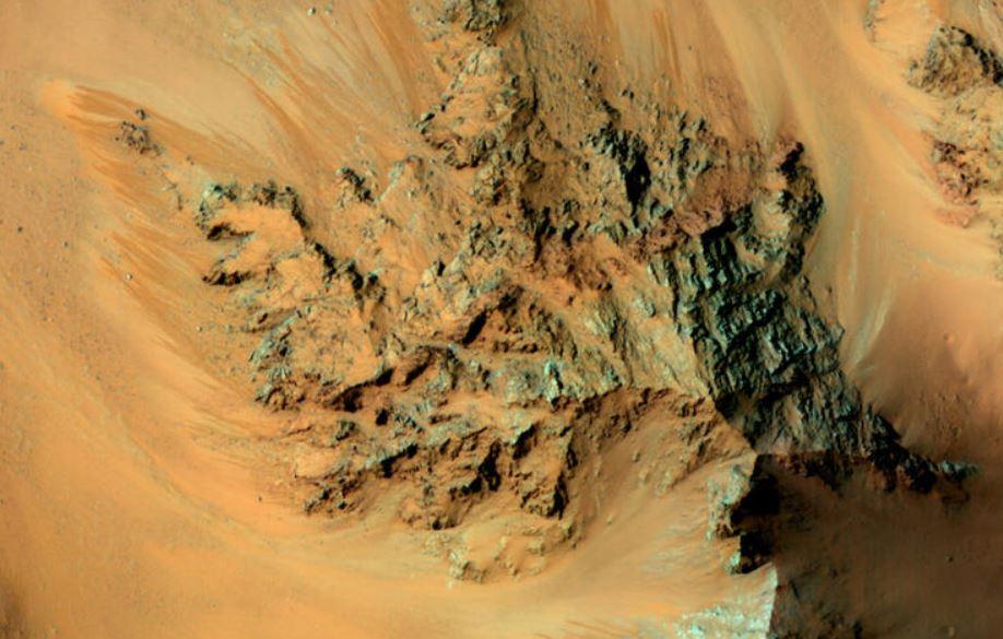 fluxos de água em Marte