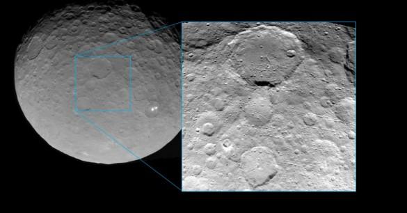 Ceres, útlimas fotos