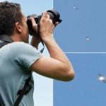 Fotógrafo irlandês tira fotos de esquadrilha de OVNIs / UFOs, na Espanha
