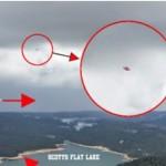 OVNI / UFO é, alegadamente, fotografado em lago da Califórnia, EUA
