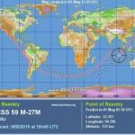 Cargueiro espacial Progress continua caindo em direção à Terra
