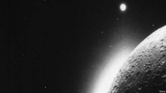 A poeira lunar foi analisada pela sona LADEE