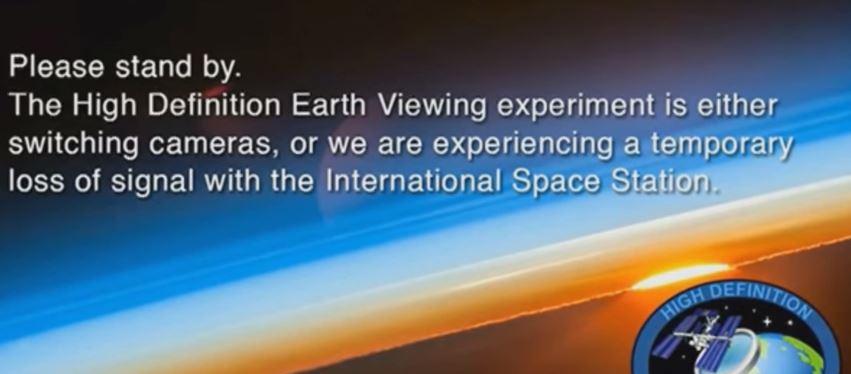 NASA interrompe video