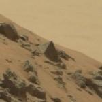Jipe-sonda Curiosity encontra pirâmide em Marte