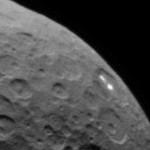 Neblina é detectada em cratera de Ceres, onde estão as luzes misteriosas