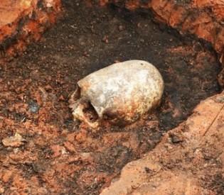 """Crânio alongado é descoberto no sítio conhecido como """"Stonehenge Russo"""""""