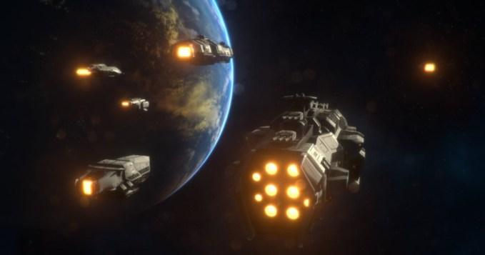 ETs vindo para Terra