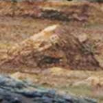 Marte: Possível petroglifo é encontrado em foto de formação rochosa