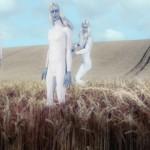 Policial britânico diz ter visto alienígenas inspecionando agroglifo recém terminado
