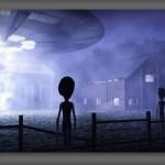 OVNI / UFO e possível alienígena são avistados por aldeões na Índia