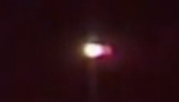 OVNI visto em primeiro de outubro