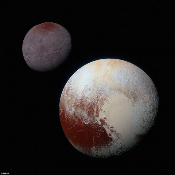 Plutão e Charon