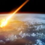 Meteoro se encontra em rota de colisão com a Terra