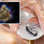 Maconha espacial: NASA encontra THC em fragmento de meteorito