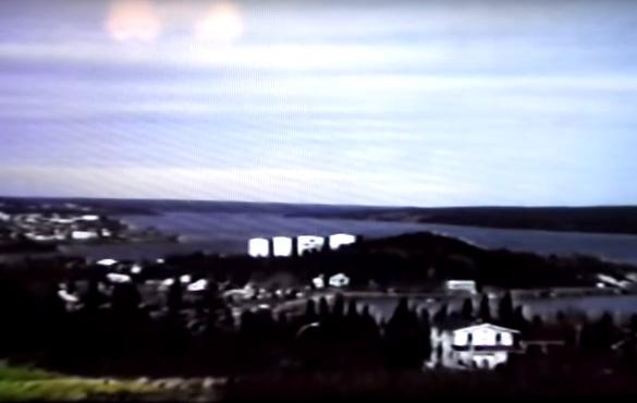 Clarenville-área do avistamento do OVNI