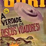 """Revista """"O Guri"""": OVNIs / UFOs da década de 1950"""
