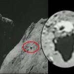 Novo possível OVNI / UFO é avistado no cometa 67P/Churyumov–Gerasimenko