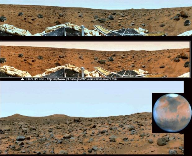 Qual é a cor real de Marte 2
