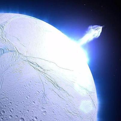 geisers de Encélado 2