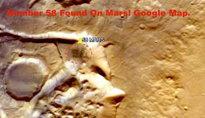 58 em Marte