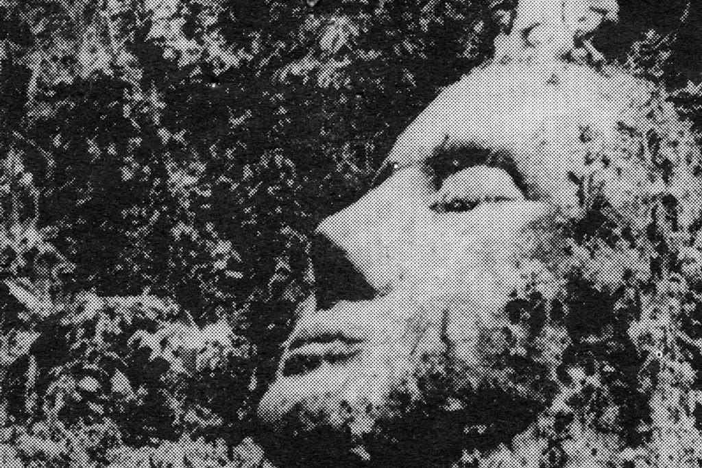 Cabeça de pedra da Guatemala