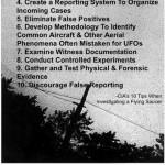CIA dá dicas de como investigar OVNIs / UFOs